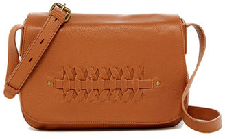 Lucky Brand Leather Kingston Flap Crossbody $188 thestylecure.com