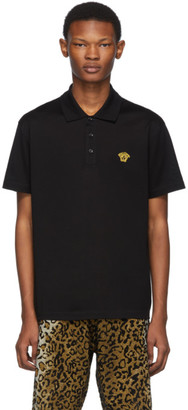 Versace Black Medusa Polo