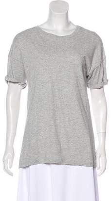 Frame Mélange Short Sleeve Top