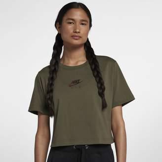 Nike Sportswear Air Cropped Women's Short-Sleeve Top