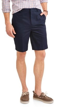 George Men's Flat Front Shorts