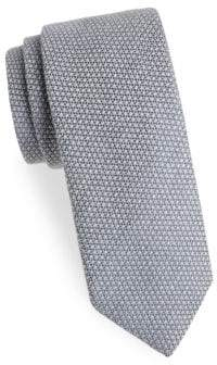 Charvet Textured Wool& Silk Tie