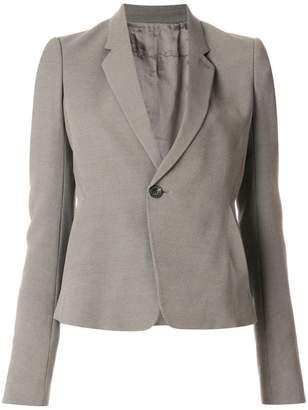 Rick Owens cropped notblazer jacket