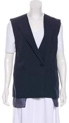 Tibi Linen Oversize Vest