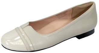 8823b3e5a20 at Amazon Canada · PEERAGE Marina (FT6044) Women Extra Wide Width Round Toe  Flats 7