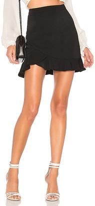 by the way. Milan Ruffle Mini Skirt