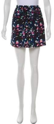 Richard Chai Printed Silk Skirt