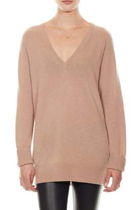 Equipment Asher Cashmere V-Neck Camel
