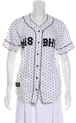 Misbhv Button-Up Casual Top