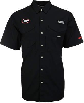Columbia Men's Georgia Bulldogs Bonehead Short Sleeve Shirt