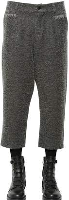 Damir Doma 23cm Cropped Wool Blend Boucle Pants
