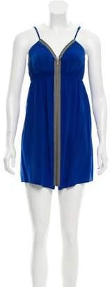 Twelfth Street By Cynthia Vincent Silk Mini Dress