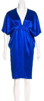 Martin Grant Silk Draped Dress