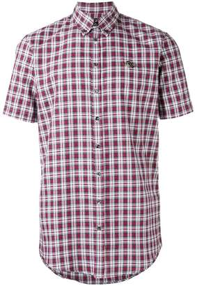 DSQUARED2 short sleeved tartan shirt