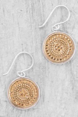 Anna Beck Beaded Circle Drop Earrings