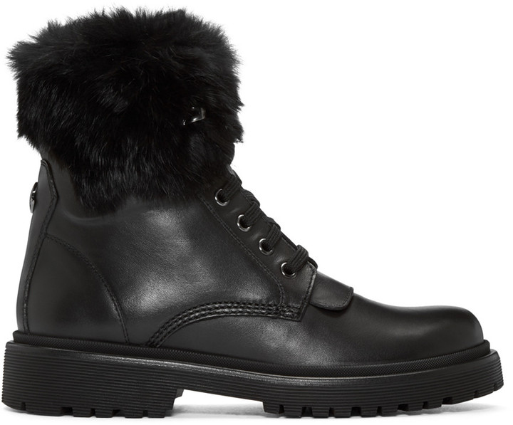 Moncler Moncler Black Patty Boots