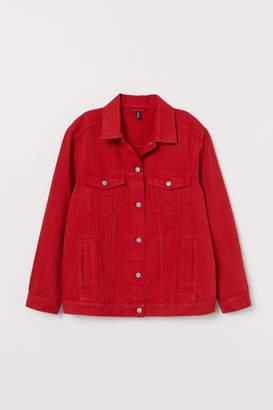 H&M Denim Jacket - Red