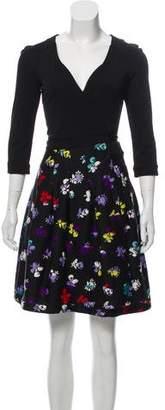 Diane von Furstenberg Jewel Wrap Dress w/ Tags