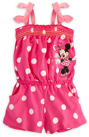 Disney Minnie Mouse Romper for Girls