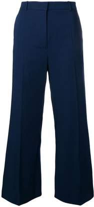 Joseph flared high waisted trousers