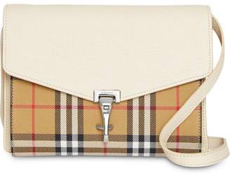 64193cd99f3b Burberry Small Vintage Check and Leather Crossbody Bag