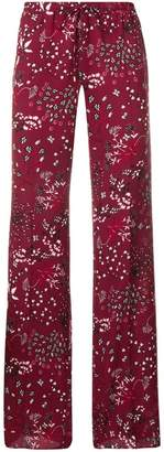 Max Mara floral print trousers