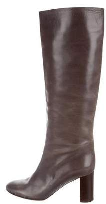 Chloé Leather Knee-High Boots
