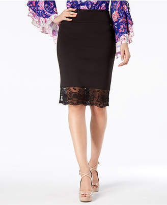 Thalia Sodi Contrast Pencil Skirt, Created for Macy's