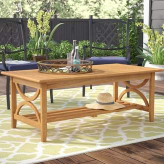 Birch Lane Brunswick Teak Coffee Table