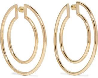 Jennifer Fisher Double Hoop Gold-plated Hoop Earrings