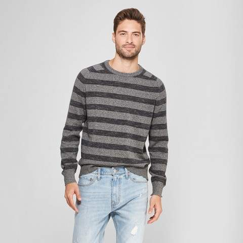 Goodfellow & Co Men's Standard Fit Crew Neck Sweater - Goodfellow & Co Charcoal Heather