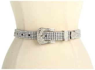 M&F Western 1 Crystal Concho Rhinestone Belt Women's Belts