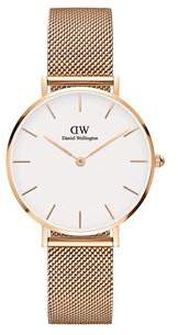 Daniel Wellington Melrose Gold Mesh Watch
