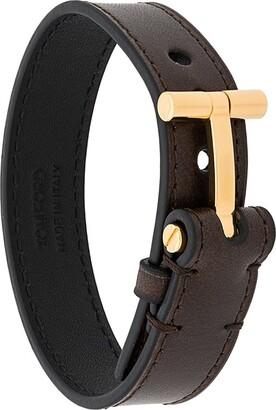 Tom Ford T detailed bracelet