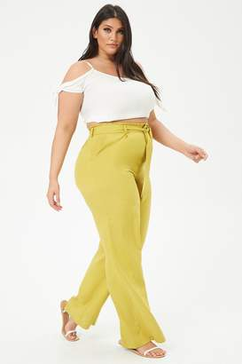 Forever 21 Plus Size Wide-Leg Pants