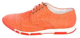 Dolce & Gabbana Suede Cap-Toe Sneakers