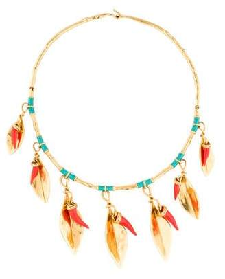 Aurelie Bidermann Monteroso Leaf Necklace