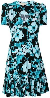 MICHAEL Michael Kors floral-print ruffled mini dress