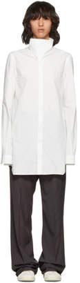 Rick Owens White Island Shirt