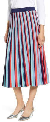 Halogen Stripe Knit Skirt