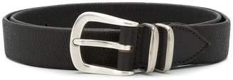 Eleventy oversized buckle belt