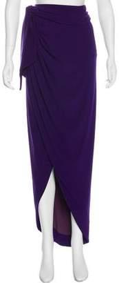 Rachel Zoe Draped Maxi Wrap Skirt