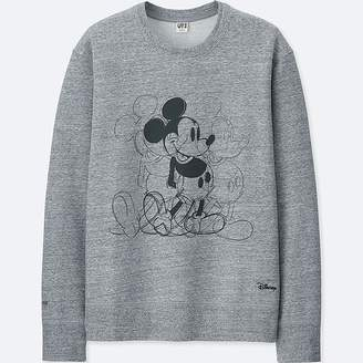Uniqlo Men's Mickey Art Sweatshirt (andy Warhol)