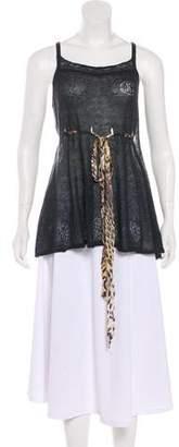 Just Cavalli Sleeveless Knit Top