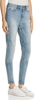 Calvin Klein Jeans High-Rise Skinny Jeans in Joy Ride $79 thestylecure.com