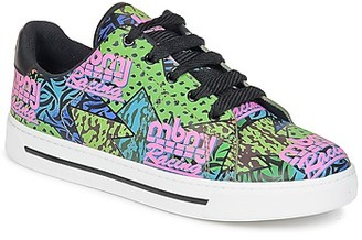 Marc by Marc Jacobs MBMJ MIXED PRINT women's Shoes (Trainers) in Multicolour