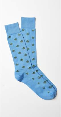 J.Mclaughlin Marijuana Leaf Socks