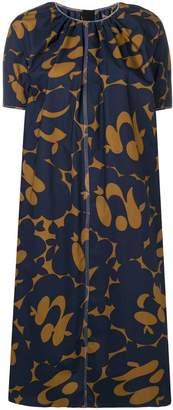 Marni two-tone print dress