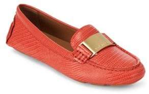 Calvin Klein Lisette Leather Flats
