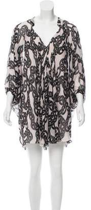 Diane von Furstenberg Fleurette Chiffon Dress